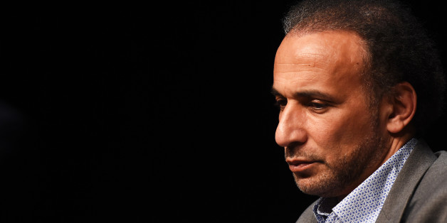 Swiss Islamologist Tariq Ramadan takes part in a conference on the theme 'Live together', on March 26, 2016 in Bordeaux. / AFP / MEHDI FEDOUACH        (Photo credit should read MEHDI FEDOUACH/AFP/Getty Images)