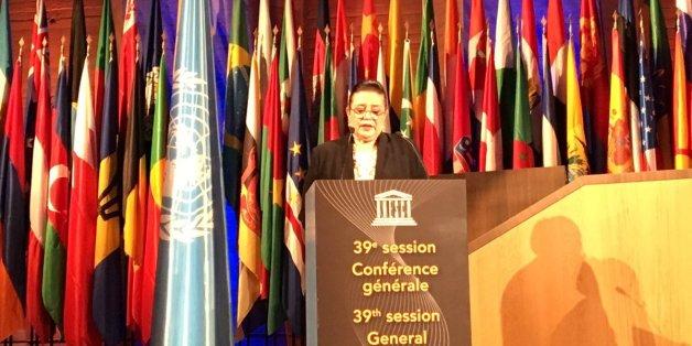Zohour Alaoui élue présidente de la 39ème session de la conférence générale de l'Unesco