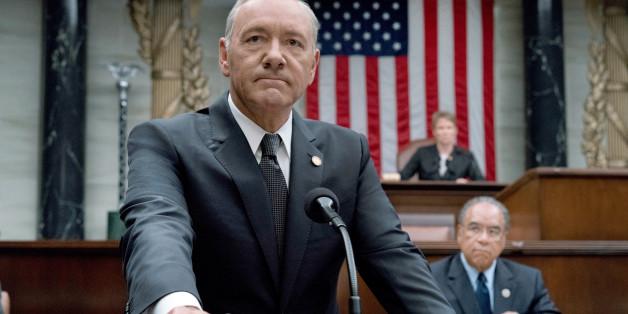 """Kevin Spacey in der fünften Staffel von """"House of Cards"""""""