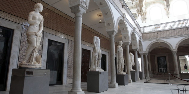 A general view is pictured inside the national Bardo museum, in Tunis March 27, 2015. Tunisia said on Thursday that the attack on a Tunis museum last week was launched by a cell of 23 militants, including an Algerian and Moroccans, with overlapping allegiances to a number of hardline islamist groups. Tunisian Interior Minister Najem Gharsalli said 80 percent of the group had already been arrested over the killing of 20 tourists including Japanese, French and Italians in an attack claimed by the