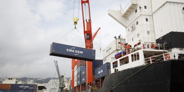 Port d'Alger, photo d'archive