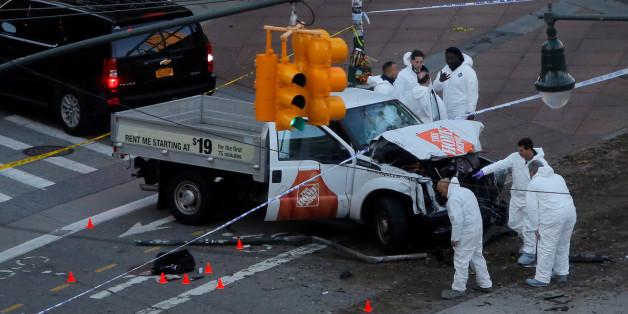 Truck-Anschlag: Was wir über den Tatverdächtigen von New York wissen