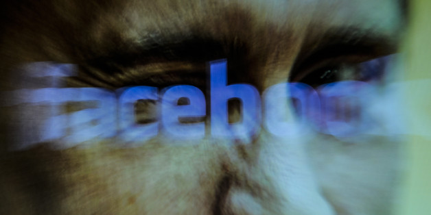 A Facebook logo is seen on a computer screen in this photo illustration on October 31, 2017. Material posted on Facebok and other social media directly and indirectly reached over 126 million Americans between 2015 and 2017 according to a company testimony that will be presented to the US Senate judiciary committe on Tuesday. (Photo by Jaap Arriens/NurPhoto via Getty Images)