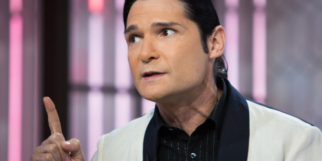 TODAY -- Pictured: Corey Feldman on Monday, October 30, 2017 -- (Photo by: Nathan Congleton/NBC/NBCU Photo Bank via Getty Images)