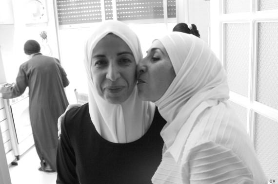 zwei muslimische frauen