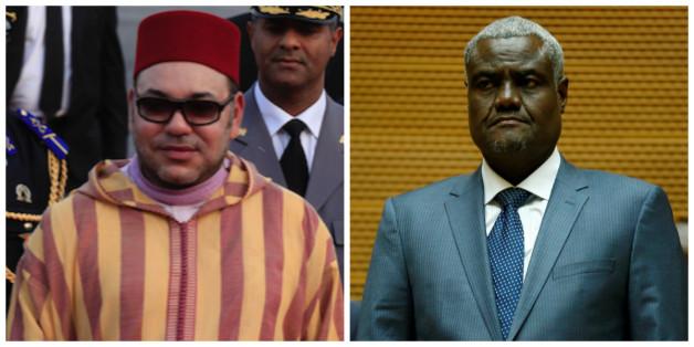Le roi reçoit le président de la commission de l'Union africaine, en visite au Maroc