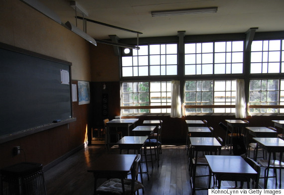 classroom japan