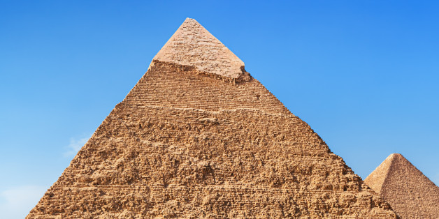 Pyramid of Cheops is the oldest and largest of the three pyramids in Giza, Egypt.http://bem.2be.pl/IS/egypt_380.jpg