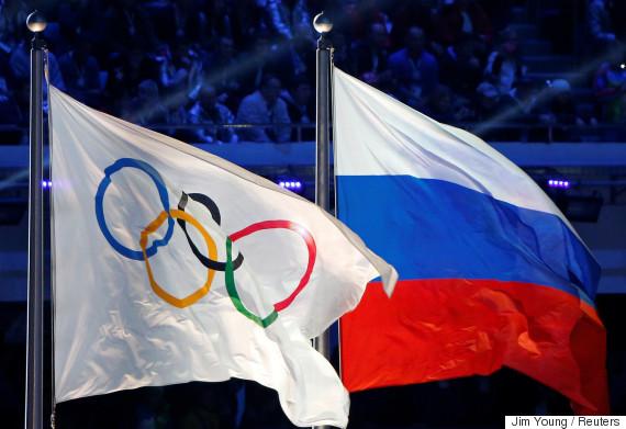 russia flag olympics