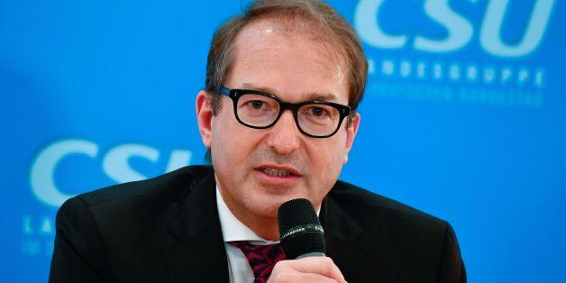 Der ehemalige CSU-Verkehrsminister Alexander Dobrindt