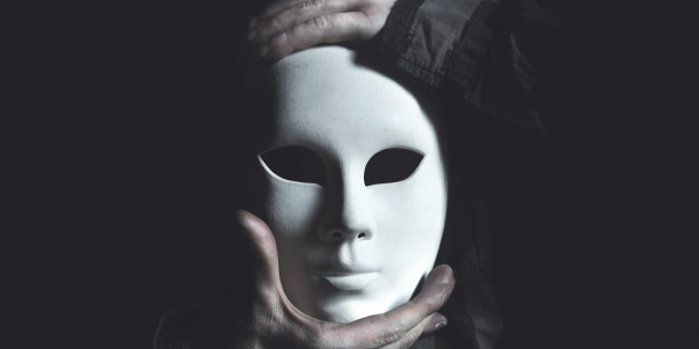 theater white mask