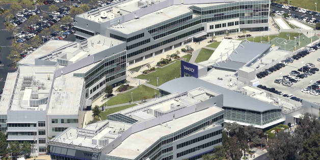 The Yahoo campus is shown in an aerial photo in Sunnyvale, California, U.S. April 6, 2016. REUTERS/Noah Berger/File Photo     TPX IMAGES OF THE DAY