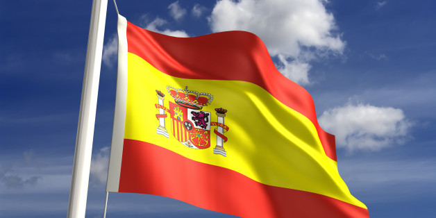 3D Spain flag (with clipping path)see more country...