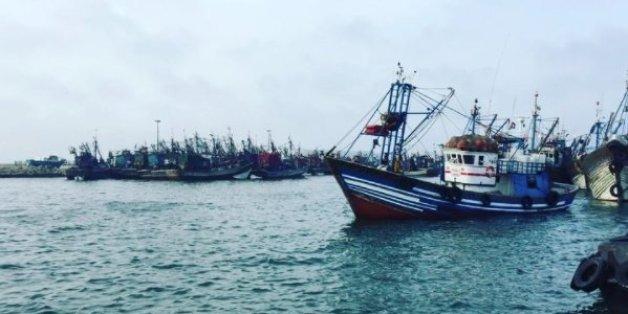 Naufrage d'un bateau de pêche à Dakhla: 24 marins sauvés et un autre porté disparu