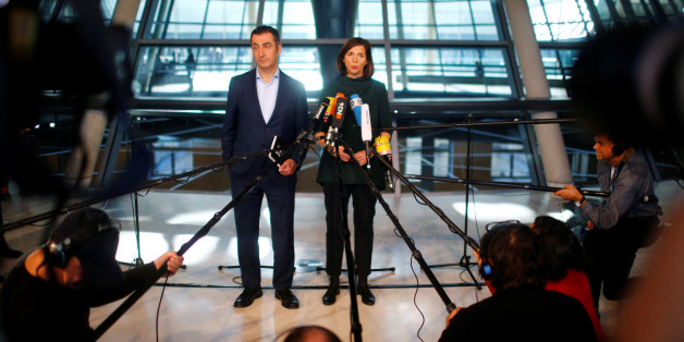 Cem Özdemir und Katrin Göring-Eckardt