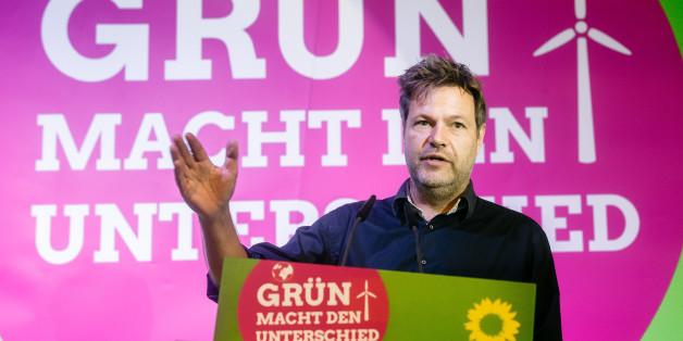Grünen-Politker Habeck sagt mit drei Wörtern alles über die heutigen Sondierungen