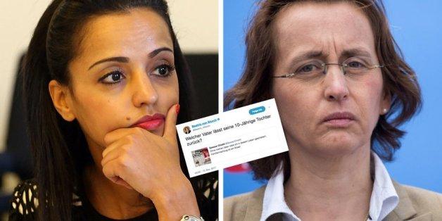 AfD-Politikerin von Storch greift den Vater von SPD-Frau Chebli an - die findet die passende Antwort