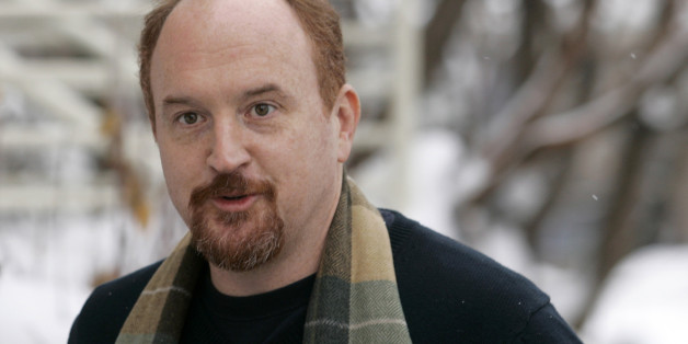 "Stand-up comedian and director Louis C.K. arrives for the premiere of his film ""Hilarious"" at the Sundance Film Festival in Park City, Utah January 26, 2010. REUTERS/Robert Galbraith  (UNITED STATES - Tags: ENTERTAINMENT)"