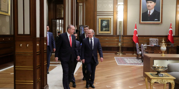 Putin und Erdogan wollen Einigkeit beschwören – doch finden beim wichtigsten Thema nicht zusammen