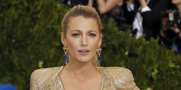 Metropolitan Museum of Art Costume Institute Gala - Rei Kawakubo/Comme des Garcons: Art of the In-Between - Arrivals - New York City, U.S. - 01/05/17 - Blake Lively. REUTERS/Lucas Jackson