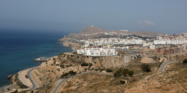 A view shows Morocco's northern town of Al-Hoceima on the Mediterranean coast, May 31, 2017. Protesters are expected to demonstrate Wednesday night in Al-Hoceima, where a fishmonger was crushed to death inside a garbage truck in October 2016 as he tried to retrieve fish confiscated by police. REUTERS/Youssef Boudlal