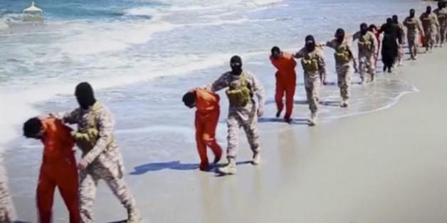 Aufnahmen aus einem IS-Propagandavideo