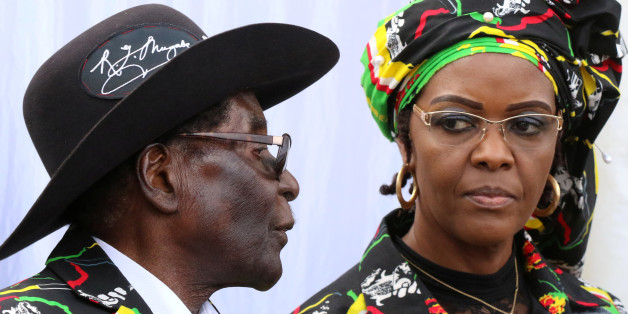 President Robert Mugabe and his wife Grace attend a rally of his ruling ZANU (PF)  in Chinhoyi, Zimbabwe, July 29, 2017. REUTERS/Philimon Bulawayo