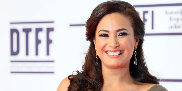 Tunisian actress Hind (Hend) Sabry (Sabri) attends the opening night of the Doha Tribeca Film Festival in the Qatari capital, on November 17, 2012. AFP PHOTO/KARIM SAHIB        (Photo credit should read KARIM SAHIB/AFP/Getty Images)