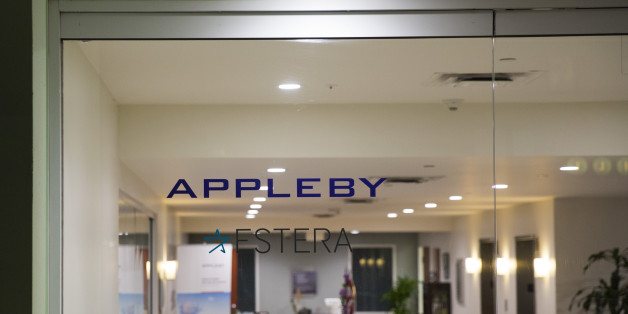 HAMILTON, BERMUDA - NOVEMBER 8: A view into the lobby of the building that houses the Appleby law firm offices, November 8, 2017 in Hamilton, Bermuda. In a series of leaks made public by the International Consortium of Investigative Journalists, the Paradise Papers shed light on the trillions of dollars that move through offshore tax havens. (Photo by Drew Angerer/Getty Images)