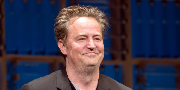 NEW YORK, NY - JUNE 05:  Matthew Perry is seen on stage during the opening night curtain call of 'The End Of Longing' at Lucille Lortel Theatre on June 5, 2017 in New York City.  (Photo by Mike Pont/WireImage)