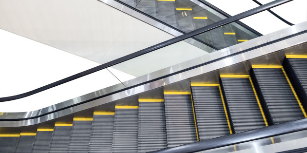 Escalator technology up and down step