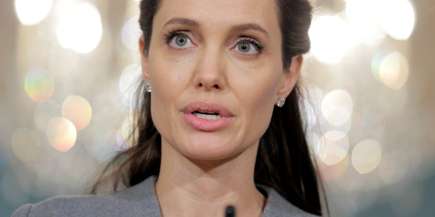 Actress Angelina Jolie speaks about the plight of refugees on World Refugee Day at the State Department in Washington, U.S., June 20, 2016.      REUTERS/Joshua Roberts