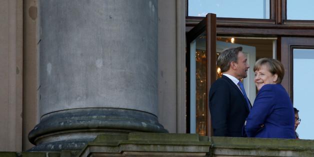 Merkel und Lindner, nicht immer so vertaut