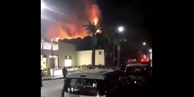 Marrakech: Incendie au restaurant Jad Mahal