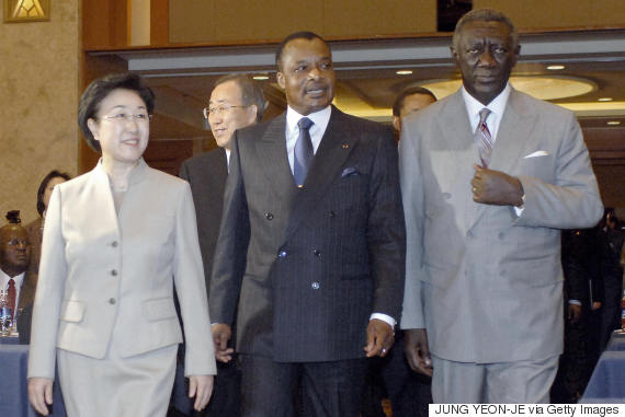 denis sassou nguesso korea