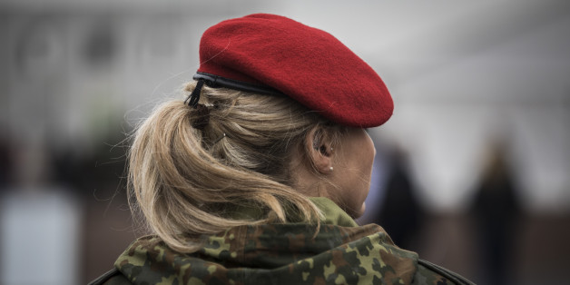 Bundeswehrsoldatin (Symbolfoto)