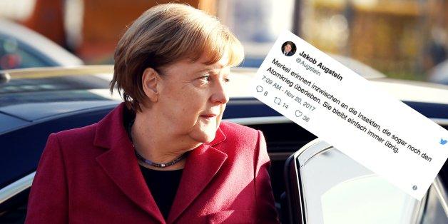 Publizist Jakob Augstein verwirrt mit geschmacklosem Tweet über Merkel