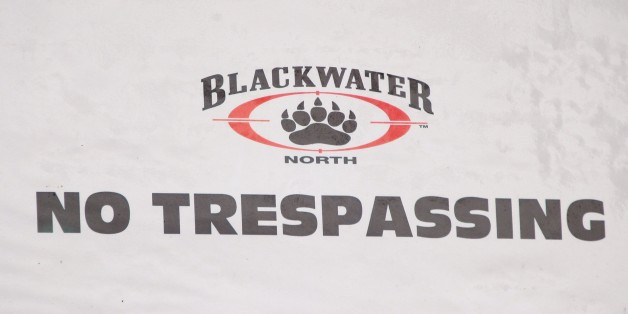 MOUNT CARROLL, IL - OCTOBER 2:  A 'No Trespassing' sign marks the drive leading to Blackwater?s training facility October 2, 2007 in Mount Carroll, Illinois. Today the chairman of Blackwater, a security contractor, testified before the House Committee on Oversight and Government Reform concerning alleged crimes committed by Blackwater employees in Iraq.  (Photo by Scott Olson/Getty Images)