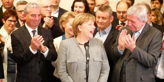 """Nach Jamaika-Aus: """"Bild""""-Zeitung regt sich über fröhliches Merkel-Foto auf – Das steckt dahinter"""