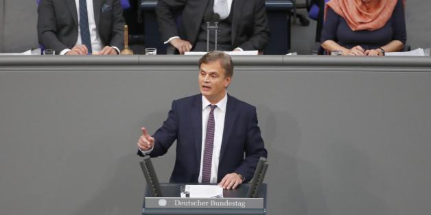 Der erste AfD-Auftritt im Bundestag nach dem Jamaika-Scheitern dauert keine Minute
