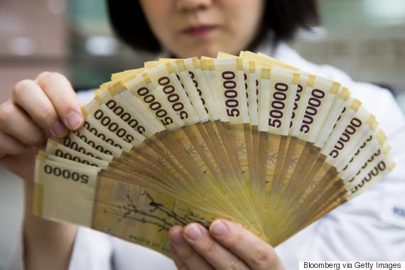korea bank note