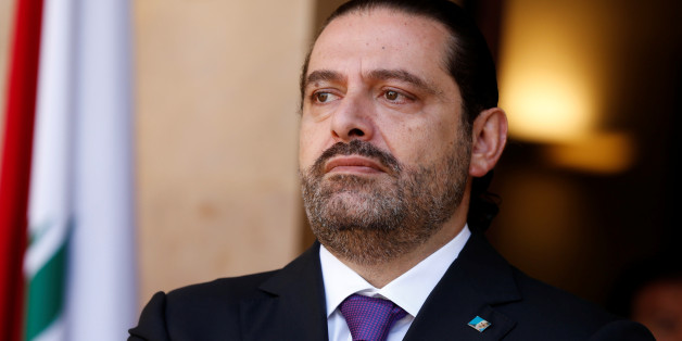 Lebanon's Prime Minister Saad al-Hariri is seen at the governmental palace in Beirut, Lebanon October 24, 2017. Picture taken October 24, 2017. REUTERS/Mohamed Azakir