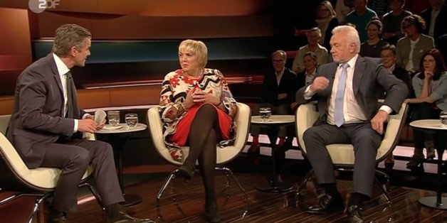 Claudia Roth und Wolfgang Kubicki bei Markus Lanz