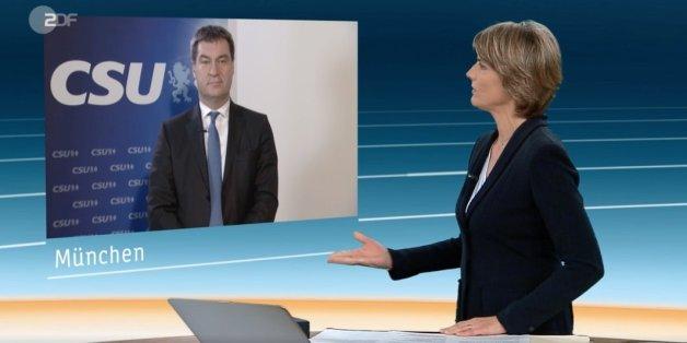 Markus Söder im ZDF