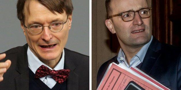 Jens Spahn und SPD-Politiker Lauterbach eröffnen bei Twitter die GroKo-Sondierungen