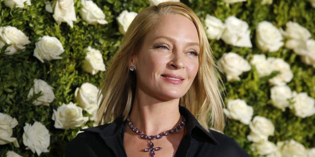 71st Tony Awards  – Arrivals – New York City, U.S., 11/06/2017 - Actress Uma Thurman. REUTERS/Eduardo Munoz Alvarez