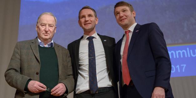 Rechtsnationaler AfD-Flügel bringt sich vor der Wahl des neuen Bundesvorstandes in Stellung