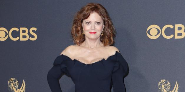 69th Primetime Emmy Awards – Arrivals – Los Angeles, California, U.S., 17/09/2017 - Susan Sarandon. REUTERS/Mike Blake