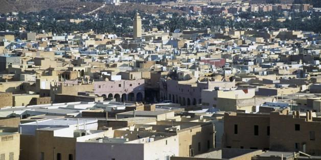 ALGERIA - MARCH 5: View of Ghardaia, M'Zab Valley (UNESCO World Heritage List, 1982), Algeria. (Photo by DeAgostini/Getty Images)