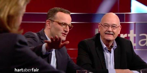 Jens Spahn findet, dass Angela Merkel viel Verantwortung übernimmt - sagt es aber erst, wenn man ihn fragt